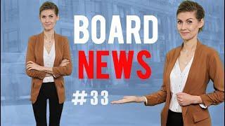 BOARD NEWS 33 - Gry planszowe, wiadomości i nowości.