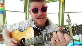 Tame Impala - Borderline // easy guitar tutorial beginner lesson