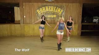 The Wolf - Line Dance Tutorial - Borderline Dance