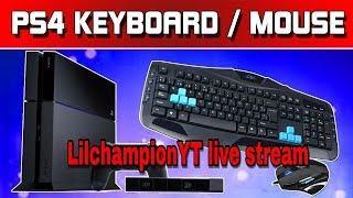 Mouse and key board  PS4 |Fortnite live stream season 5 scrims-575+WINS-10k kills