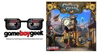 City of Gears (Production Version) Preview with the Game Boy Geek