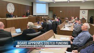 Winnebago County board approves Loves Park Costco funds, members ask Haney to resign