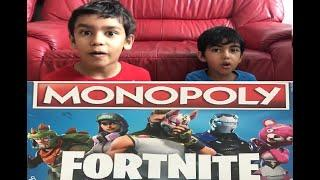 FORTNITE MONOPOLY | Board Games | KIDS | UNBOXING FORTNITE MONOPOLY | HOW TO PLAY NEXT..
