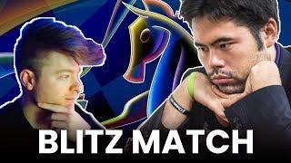GM Hambleton VS GM Nakamura BLITZ | A WIN FOR THE BOYS?!
