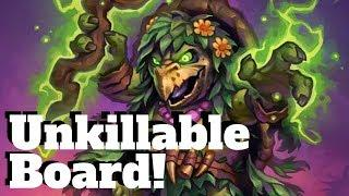 Wall Rogue?! Unkillable Board Combo! [Hearthstone Game of the Day]