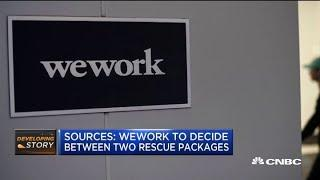Sources: WeWork board to decide between two rescue