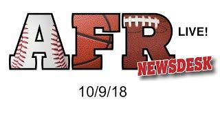 AFR Sports Board Game News for 10/9/18