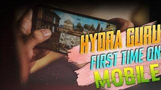 ???? PUBG MOBILE LIVE : FIRST TIME ON MOBILE | H¥DRA | GURU