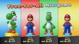 Mario Party 10 - Amiibo Party - Yoshi & Mario Board