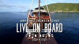 Live On Board - Raja Ampat Dive Trip 2018