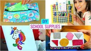 4 DIY for SCHOOL Supplies/Teenagers... | #Hacks #Crafts #Anaysa #DIYQueen