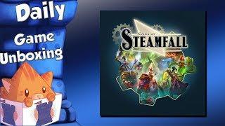 Daily Game Unboxing - Crisis at Steamfall