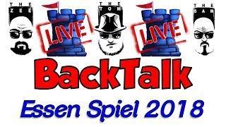 LIVE BackTalk!!: Essen Spiel 2018