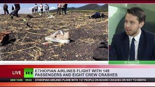 Boeing 737 crashes in Ethiopia with 157 people on board