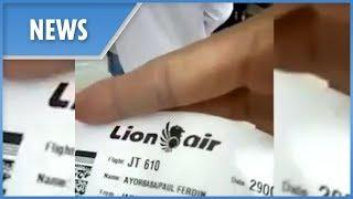 Chilling video shows passengers boarding doomed Lion Air flight