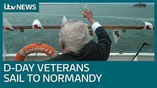 D-Day veterans share landings experiences on board British Legion ship | ITV News