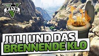 Juli und das brennende Klo! - ♠ GTA V Online Season 2 ♠ - Let's Play GTA V Online - Dhalucard