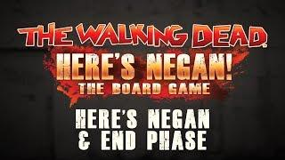 How to Play - Here's Negan: The Board Game - Negan & End Phase