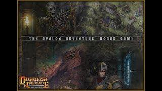 Reveal video:  The Avalon Adventure board game for Dungeon Crusade