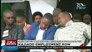 Kajiado MPs accuse public service board of irregular recruitment