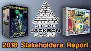 Steve Jackson Games' 2018 Stakeholders Report