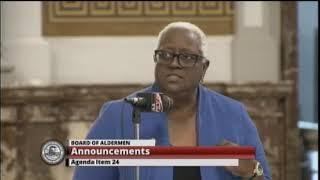 Board of Aldermen - October 4, 2019 - Live