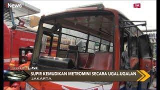 Sopir Ugal-ugalan Sebabkan Metromini Terguling, Wanita Paruh Baya Tewas Tertimpa - Police Line 01/05