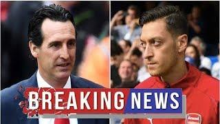 Arsenal's board tell Unai Emery where they stand on Mesut Ozil saga