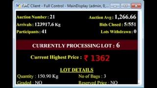 SPICES BOARD E-AUCTION PUTTADY 07/12/2018 HEADER LIVE