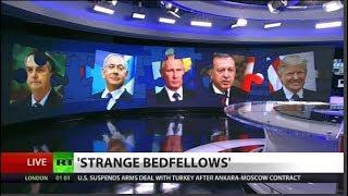 Putin plays Israel & Turkey in grand chess board