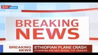 Ethiopian plane en route to Nairobi crashes with 157 people on board