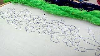 Amazing borderline design for saree | Dress | Dupatta