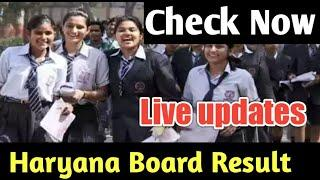Haryana Board 10th class Result Live Updates. Haryana Board Result latest news. HBSE Board Result.