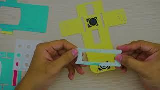 [Board Game VN] Unbox và hướng dẫn lắp Foldscope - kính hiển vi giấy