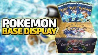 Pokemon Base Set Display (Turtok Booster) - Pokemon Trading Card Game - Deutsch German - Dhalucard