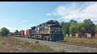 NS Military Train 056 With NS Locomotive 9489 At Rock Hill SC On The NS R-Line. 1O-12-2019