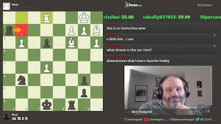 Analyzing Viewer Games tryingtolearn1234 loses to a 1583 (3 days per move)
