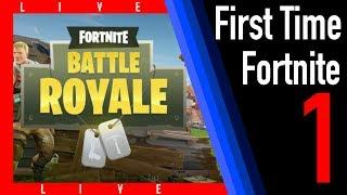First Time Fortnite | Episode 1