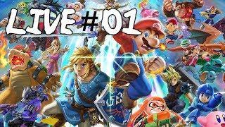 Super Smash Bros Ultimate - Live 01 - Adventure & Spirits Board