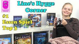 Line's Hygge Corner #1 - Essen Spiel '18, top 3 board games (In English)