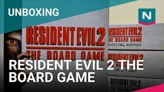 Unboxing - Resident Evil 2 The Board Game