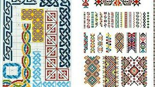 200+ Cross Stitches Ideas For Border line Get latest Style Ideas