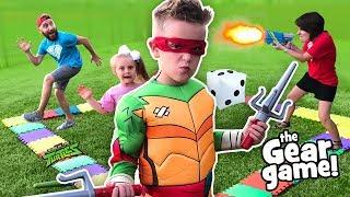THE GEAR GAME! (Teenage Mutant Ninja Turtles Edition) | KIDCITY
