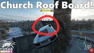 Forza Horizon 4: How To Get the Church Fast Travel Board EASY!