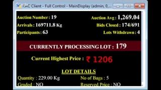 SPICES BOARD E-AUCTION PUTTADY 09/11/2018 HEADER LIVE