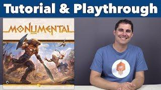 Monumental Tutorial & Playthrough - JonGetsGames