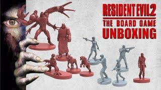 Resident Evil 2: The Board Game - Unboxing
