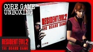 Resident Evil™ 2: The Board Game - Unboxing