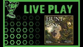 Hunt for the Ring Board Game Live Play Through
