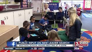 Westside School Board hosts open meeting on superintendent search